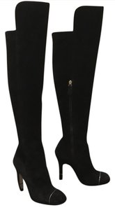 Chanel Louboutin Thigh Highs Gucci Black Boots