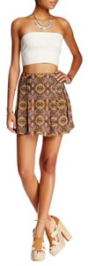 Free People Mini Skirt night combo
