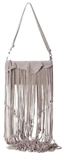 Linea Pelle Fringe Boho Coachella Cross Body Bag