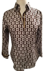 Foxcroft Top Brown