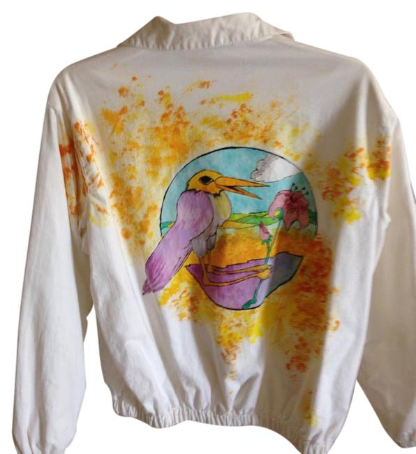 Preload https://img-static.tradesy.com/item/20728517/white-wmulti-color-painting-hand-painted-spring-jacket-size-os-one-size-0-1-650-650.jpg