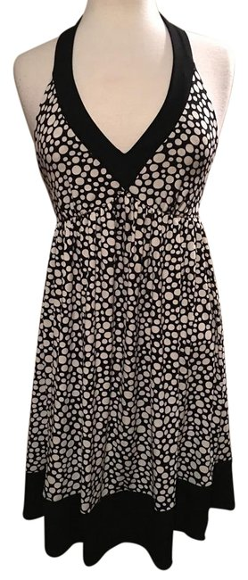 Preload https://img-static.tradesy.com/item/20728526/london-times-black-and-creme-v-neck-halter-polka-dot-mid-length-cocktail-dress-size-petite-10-m-0-1-650-650.jpg