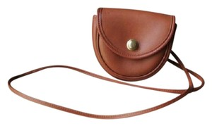 Coach Vintage Saddle Leather Cross Body Bag