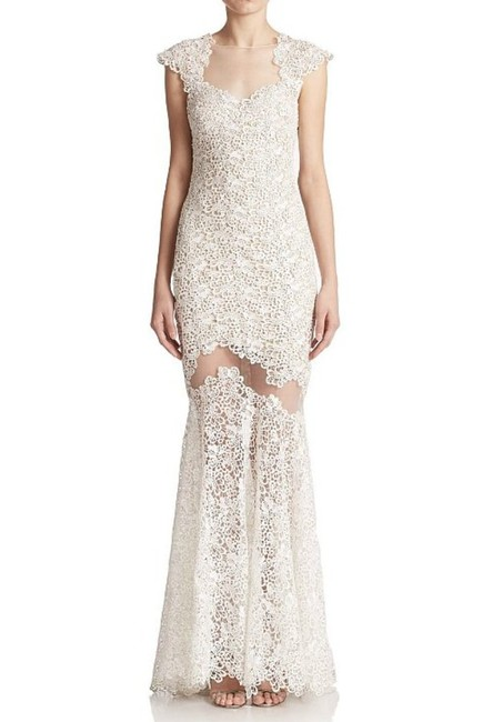Mignon Sheer Lace Prom Dress