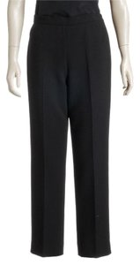 Donna Karan Straight Pants Black