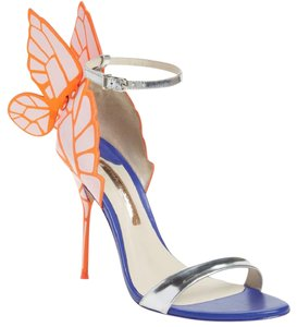 Sophia Webster Chiara Orange Pumps