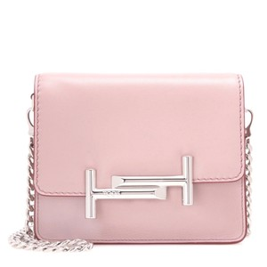 Tod's Clutch Leather Cross Body Bag
