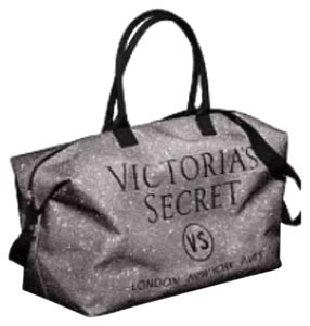 Victoria's Secret Tote in silver