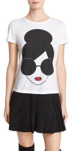 Alice + Olivia T Shirt White