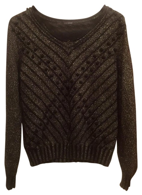 Preload https://img-static.tradesy.com/item/20728941/black-and-silver-woven-cotton-blouse-size-12-l-0-1-650-650.jpg