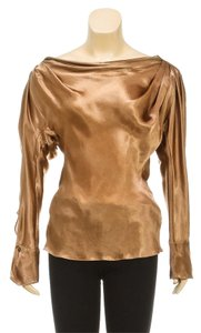 Donna Karan Top Copper