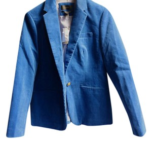 J.Crew Corduroy Soft Exclusive Bright Atlantic Blazer