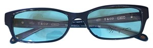 Tiffany & Co. Navy Blue Tiffany glasses