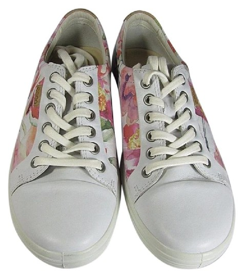 Ecco white/ floral Athletic