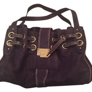 Jimmy Choo Tote in Purple