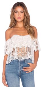 Stone Cold Fox Top White