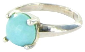 Ippolita Ring Sz 7 54 Rock Candy Single Stone Turquoise Sterling Silver