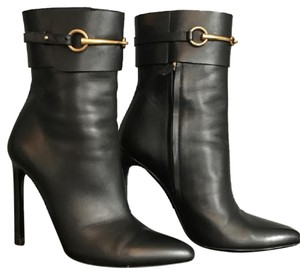 Gucci Womens Leather black Boots
