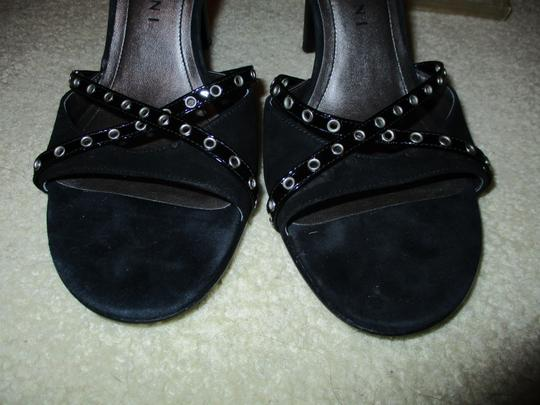 Gianni Bini Studded Leather black Sandals