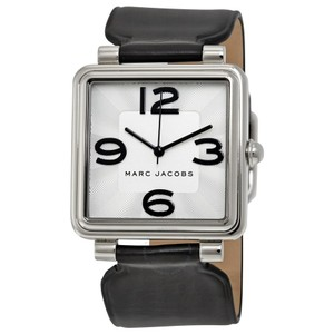 Marc by Marc Jacobs MARC BY MARC JACOBS Vic Silver Dial Ladies Leather Watch MJ1439