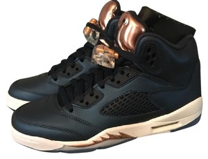 Air Jordan Jays Jordans Metallic Blue/ Rose Gold Athletic