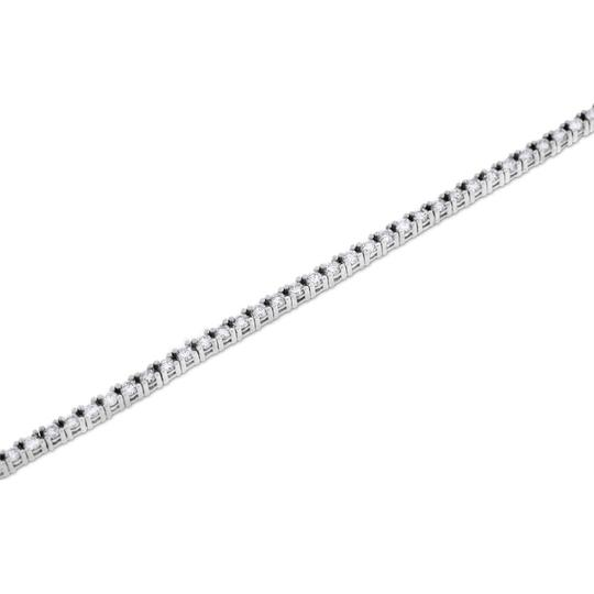 Other 1.90 Ct. Natural Diamond Tennis Bracelet In Solid 14k White Gold