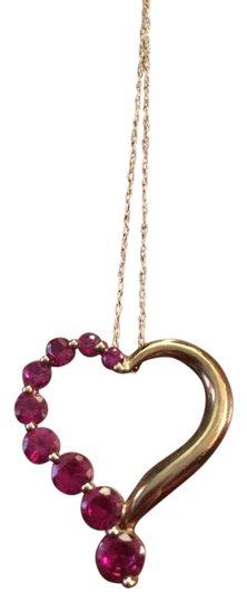 Preload https://img-static.tradesy.com/item/20729442/redgold-offers-10kt-heart-and-ruby-pendant-necklace-0-1-540-540.jpg