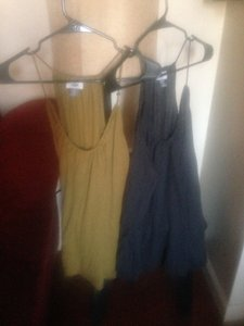 Old Navy Gray/wheat Halter Top