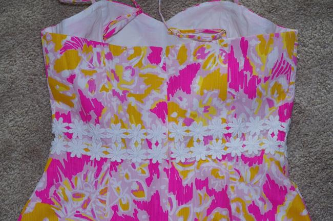 Lilly Pulitzer short dress Kir Royal Pink Ooh La La Lenore Cut-out Sundress Easter Summer on Tradesy