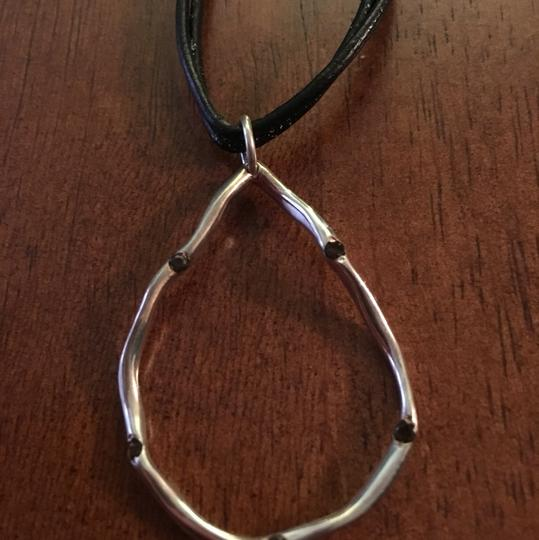 Preload https://img-static.tradesy.com/item/20729561/blacksilver-offers-euc-sterling-smokey-quartz-necklace-0-0-540-540.jpg