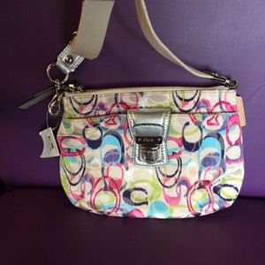 Coach Swingpack Ikat Rare Poppy Cross Body Bag