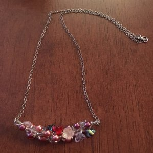 Other OFFERS!!' EUC Handmade Sterling Silver & Swarovski Necklace
