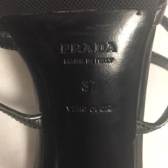 Prada pewter Formal