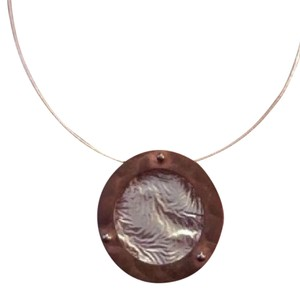 Other OFFERS!! EUC Sterling Silver & Copper Necklace