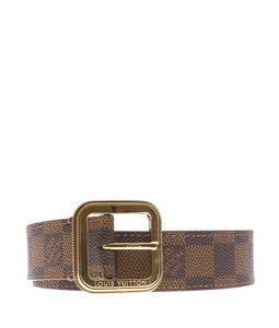 Louis Vuitton Louis Vuitton Damier Ebene Belt, Size 80/32 (114417)
