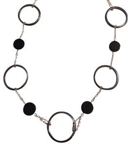 Other EUC Sterling Silver, Onyx & Hematite Necklace