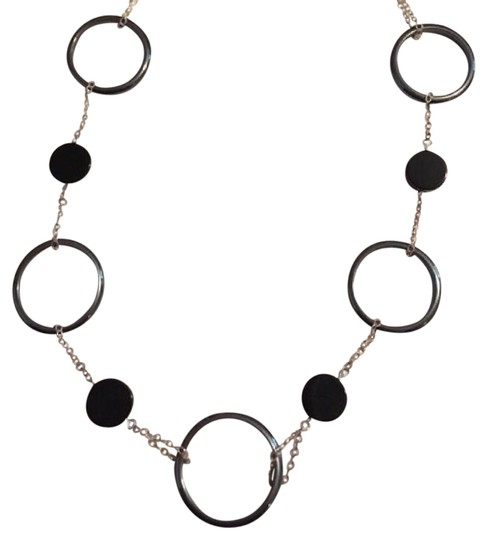 Preload https://img-static.tradesy.com/item/20729721/silverblack-euc-sterling-onyx-and-hematite-necklace-0-3-540-540.jpg