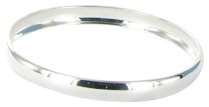 Ippolita Glamazon Bangle Bracelet 8mm Wide Oval Sterling Silver