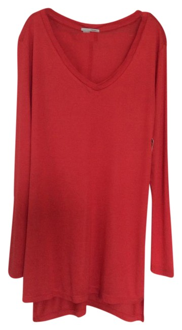 Halogen T Shirt bright coral