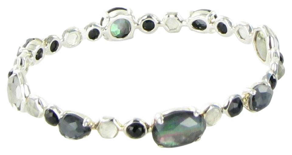 Ippolita Onyx Hematite Sterling Silver Candy Rock Multi Stone Mixed  Bracelet 23% off retail