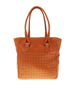 Bottega Veneta Bottega Tote in Orange