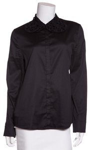 Vivienne Tam Button Down Shirt Black