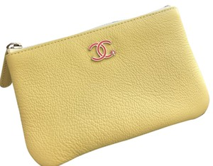 Chanel Chanel leather card coin case