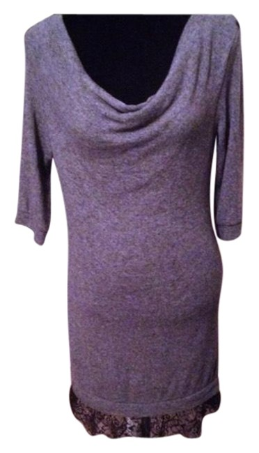 Preload https://img-static.tradesy.com/item/20729968/greyblack-designed-in-barcelona-lightweight-sweater-lace-mid-length-workoffice-dress-size-6-s-0-5-650-650.jpg