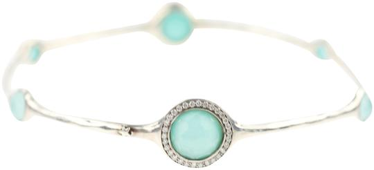Preload https://img-static.tradesy.com/item/20729981/ippolita-silver-rock-candy-turquoise-and-diamond-bangle-bracelet-0-3-540-540.jpg