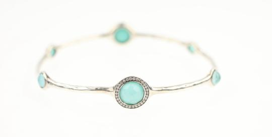 Ippolita Ippolita Rock Candy Turquoise and Diamond Bangle