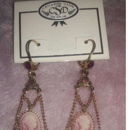 Other Catherine Stein Vintage Cameo Jewel Earrings