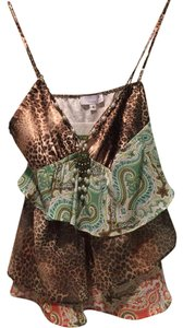 Symmetry Top Paisley/Leopard