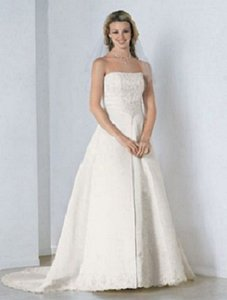Alfred Angelo 1579w Wedding Dress