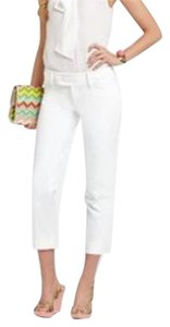 Lilly Pulitzer Capri/Cropped Pants Cameo White